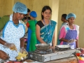 During cookery competition